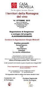 #lavorandoingrano invito degustazione 14 ottobre2015