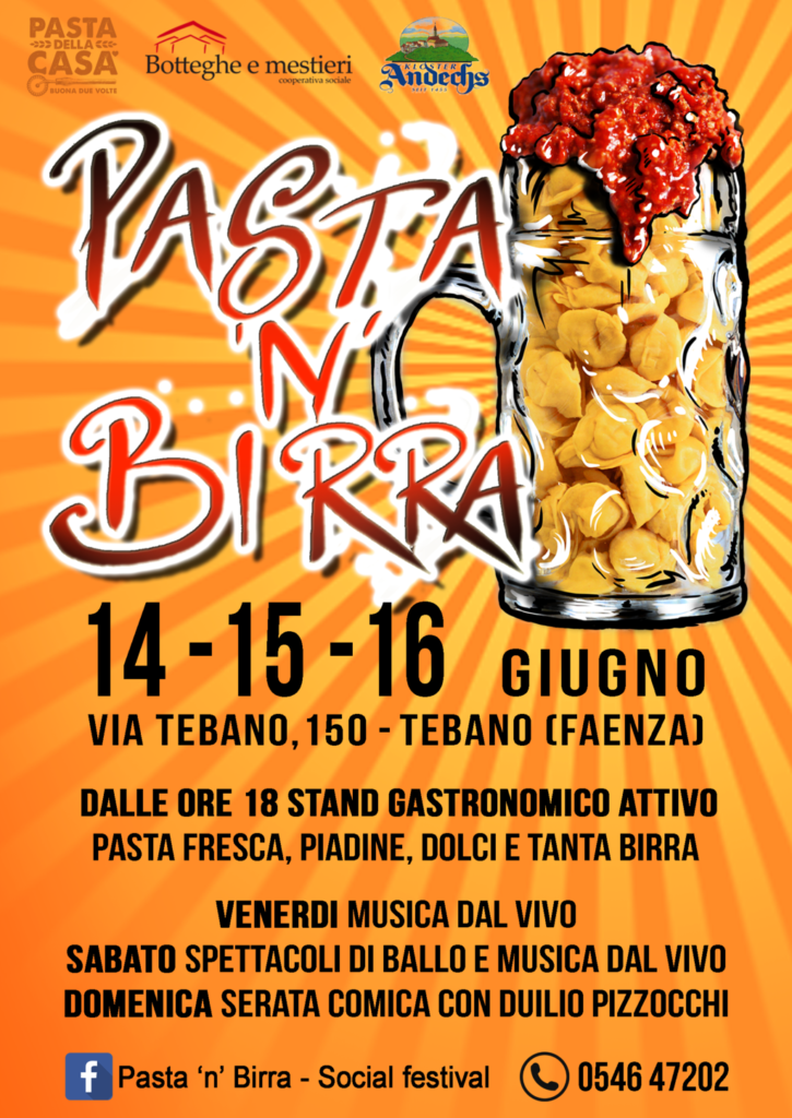 Pasta 'n' Birra 2019